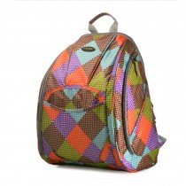 Fashionable High-Capacity Diaper Bag Baby Items Bag Mommy Backpack-Check