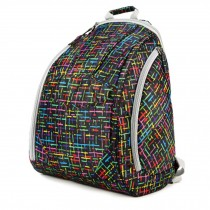 Fashionable High-Capacity Diaper Bag Baby Items Bag Mommy Backpack-Colorful Line