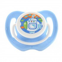 Lovely Cartoon Free Nighttime Infant Pacifier,Submarine,Blue