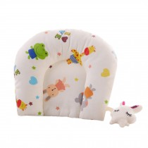Adorable Soft Baby Pillow For Newborn  Cotton Prevent Flat Head Baby Pillows,  #6