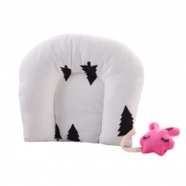 Adorable Soft Baby Pillow For Newborn  Cotton Prevent Flat Head Baby Pillows,  #7