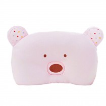 Adorable Soft Newborn Baby Pillow Prevent Flat Head Baby Pillows, D