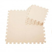 Quality Waterproof Baby Foam Playmat Set-9pc /Beige