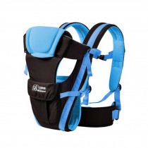 Soft Polyester Baby Carrier Best Child Baby Holding Belt Cotton belt Blue