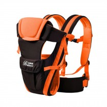 Soft Polyester Baby Carrier Best Child Baby Holding Belt Cotton belt Orange
