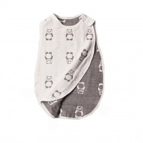 Baby Summer Sleeping Sack100% Cotton , Wearable Blanket,0-12months,M,Panda
