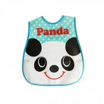 Baby Bib Best Home/Travel Bib Lovely Cartoon Design Soft,Waterproof Panda