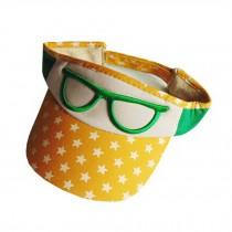 Unisex Baby Hat Sport Sun Cap Visor Peaked Cap Tennis Golf Hat,Adjustable,Yellow