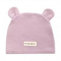 Soft Infant/Toddler Hat Cute Rabbit Hat Pure Cotton Sleep Cap,Purple