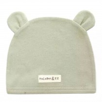 Soft Infant/Toddler Hat Cute Rabbit Hat Pure Cotton Sleep Cap, Green