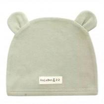Soft Infant/Toddler Hat Cute Rabbit Hat Pure Cotton Sleep Cap, Green