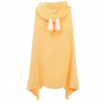 Cute Baby Towel/ Bath Towel/Baby-Washcloths/BABY bathrobe,Yellow Rabbit
