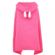 Cute Baby Towel/ Bath Towel/Baby-Washcloths/BABY bathrobe,Rose Red Rabbit