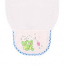 Cute Cartoon Baby Sweat Absorbent Towel Perspiration Wipes Towel ,Frog