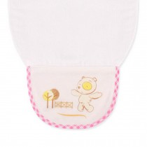 Cute Cartoon Baby Sweat Absorbent Towel Perspiration Wipes Towel,White Bear