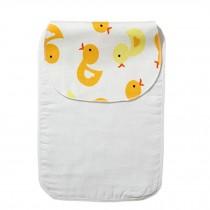 Cute Cartoon Baby Sweat Absorbent Towel Perspiration Wipes Towel,Duck