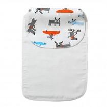Cute Cartoon Baby Sweat Absorbent Towel Perspiration Wipes Towel,Dog