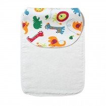 Cute Cartoon Baby Sweat Absorbent Towel Perspiration Wipes Towel,Zoo