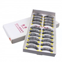 10 Pairs Handmade Natural Soft False Eyelashes Fake Eye Lash/ Long Style