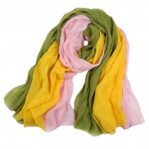Womens Girls Colorful Fashion Scarf Comfortable Scarves Shawl Wrap, F