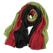 Womens Girls Colorful Fashion Scarf Comfortable Scarves Shawl Wrap, H