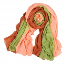 Womens Girls Colorful Fashion Scarf Comfortable Scarves Shawl Wrap, K