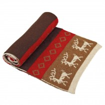 Fashionable Men's Warm Wool Scarf Red,caffee