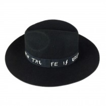 Billycock/ Homburg/ Women  Trendy  Bowler Hat Cap/ Gift for ladies, Black