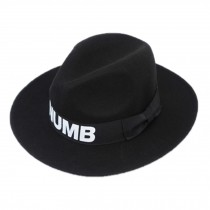 Homburg/ Billycock/  Gift for ladies/ Women  Trendy  Bowler Hat Cap