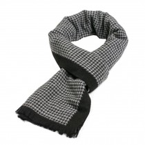 Wool Cashmere Winter Warm Scarf Neck Wrap Scarves Mens Scarves,D