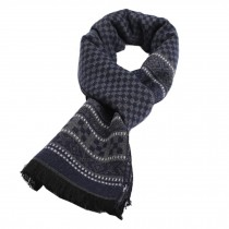 Wool Cashmere Winter Warm Scarf Neck Wrap Scarves Mens Scarves,K