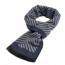 Wool Cashmere Winter Warm Scarf Neck Wrap Scarves Mens Scarves,L