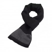 Wool Cashmere Winter Warm Scarf Neck Wrap Scarves Mens Scarves,M