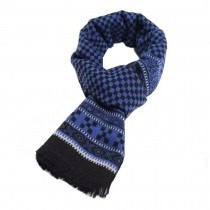 Wool Cashmere Winter Warm Scarf Neck Wrap Scarves Mens Scarves,N