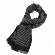 Wool Cashmere Winter Warm Scarf Neck Wrap Scarves Mens Scarves,T
