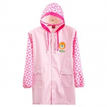 Cute Raincoat Waterproof Raincoat Toddler For Unisex Kids,Pink
