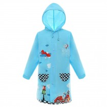 Waterproof Raincoat Toddler Raincoat For Unisex Kids , Blue