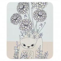 Fresh Artistic Mouse Pad Cute Cartoon Non-Slip Soft Natural Rubber Mat  U