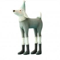 Resin DOG Christmas Gift  Dressing Decoration Animals Designer Home