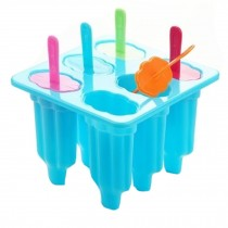Creative Ice Cube Tray Ice Maker Jelly Tray Mold Party Accessories, Blue