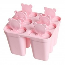 Lovely Durable Ice Cube Tray Jelly Tray Mold Ice Maker, Pink