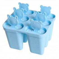 Durable Cute Ice Cube Tray Ice Jelly Tray Mold Party Maker, Blue