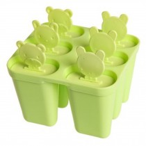 Cute Ice Cube Tray Jelly Tray Mold Party Accessories Ice Maker, Green