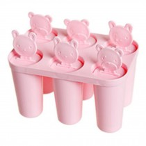 Cute Practical Ice Jelly Tray Mold Ice Cube Tray Party Accessories, Pink