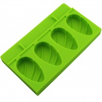 Cute Creative Ice Cube Tray Jelly Tray Mold for Summer, Green