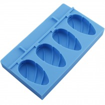 Cute Creative Ice Cube Tray Jelly Tray Mold for Summer, Sky Blue