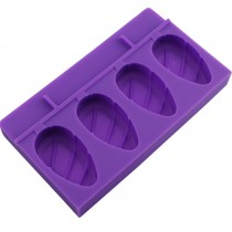 Cute Creative Ice Cube Tray Jelly Tray Mold for Summer, Purple