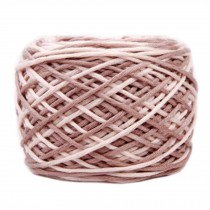 Soft Cotton Linter Yarn Thick Quick Yarn Premium Mix-colored Yarn, No.3