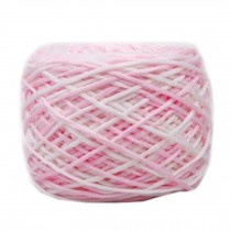 Soft Cotton Linter Yarn Thick Quick Yarn Premium Mix-colored Yarn, No.6