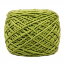 Soft Thick Quick Yarn Premium Yarn Cotton Linter Scarf Yarn, Yellow-green